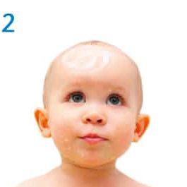 BabyBene® Gel Anwendung Schritt 2- Gel 30 Minuten einwirkenl lassen