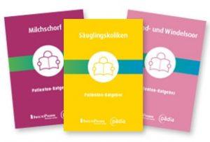 Drei Beispiele für Patientenratgeber für Hebammen